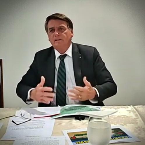 Brasil mil mortos Bolsonaro lamenta Levy Fidelix