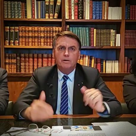 deixo Presidência se Deus tirar vida Bolsonaro impeachment