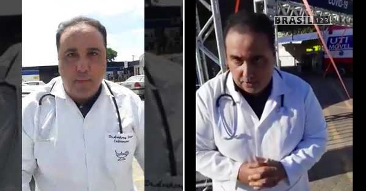enfermeiro Anthony Ferrari