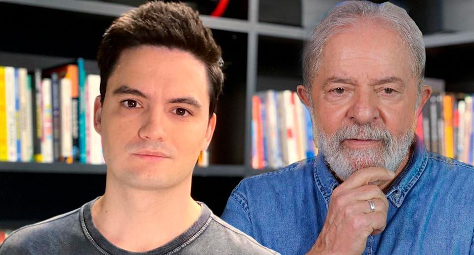 Felipe Neto e Lula