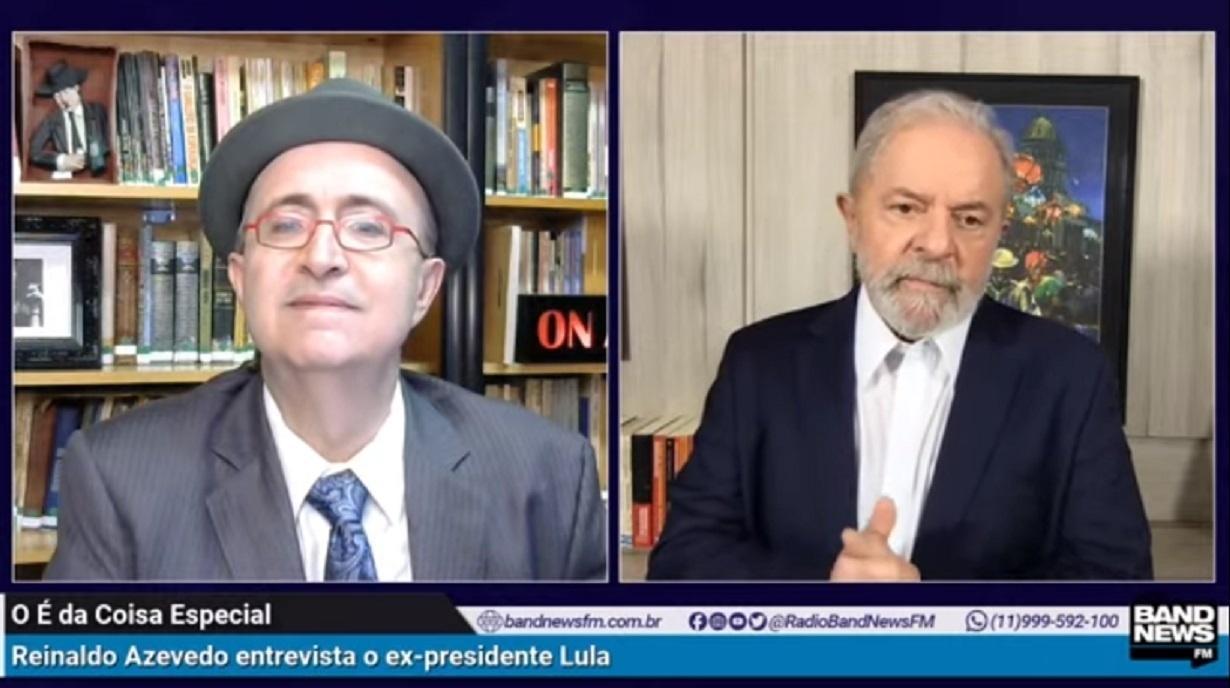 reinaldo azevedo Lula