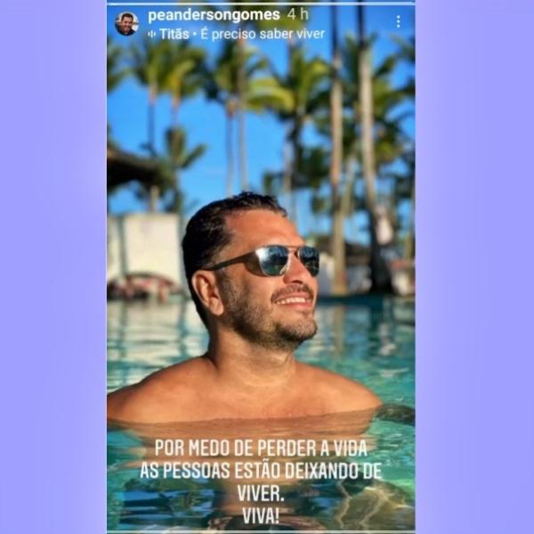 piscina resort padre reclama pessoas deixando viver anderson vitória