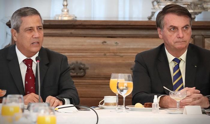Presidente Câmara anula convocação Braga Netto explicar farra picanha