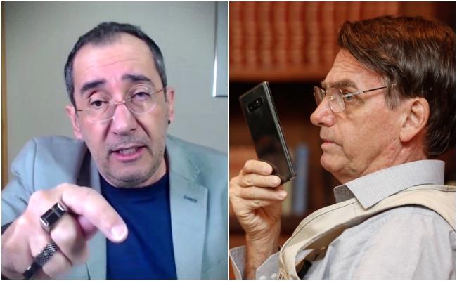 Telefonema gravado Kajuru e Bolsonaro exposição tragédia pandemia covid