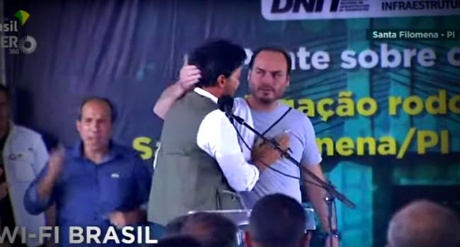 Apareça Carluxo suplica Fabio Faria discurso constrangedor Piauí governo bolsonaro