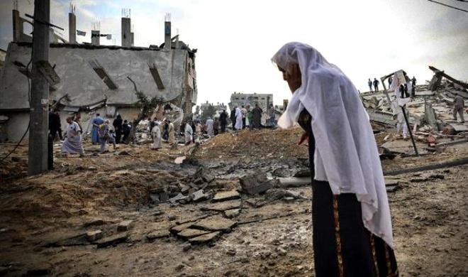 Ataque mais letal Israel mata crianças palestinas mulheres