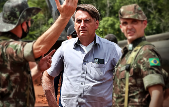 Bolsonaro ameaça usar Forças Armadas país não voltar normalidade pandemia covid