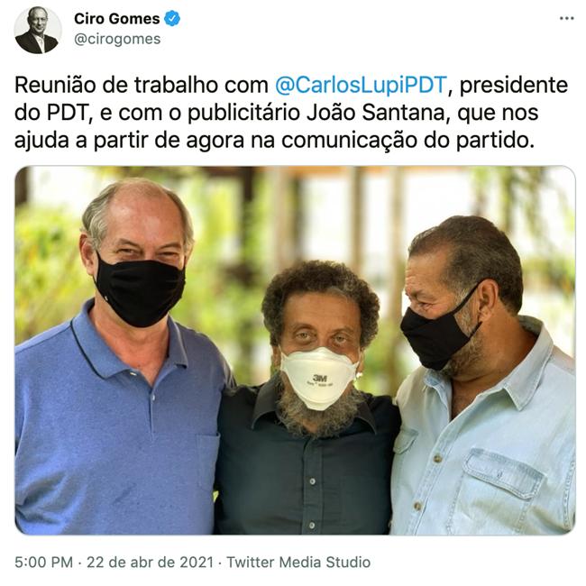 Ciro Gomes socialista direita eleições 2022