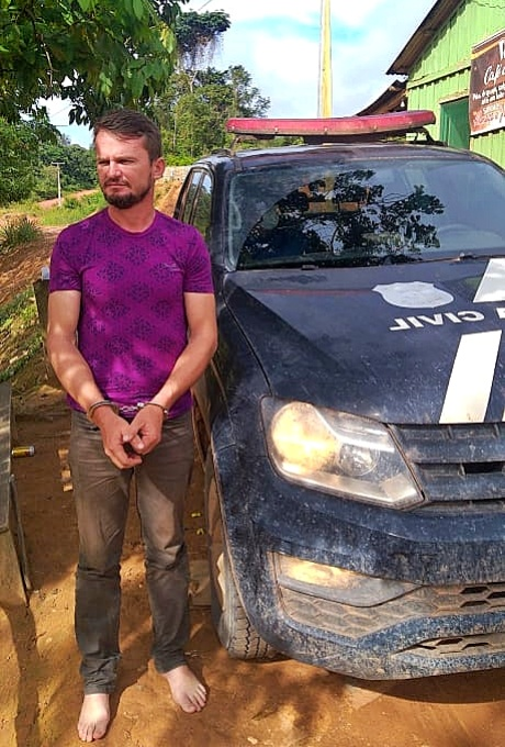 Garimpeiro saqueou terra indígena é filiado DEM armas vídeo pará