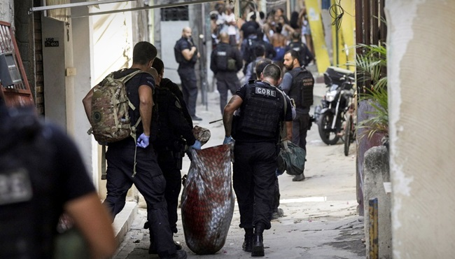 Jacarezinho histórico violência policial vinganças rio de janeiro