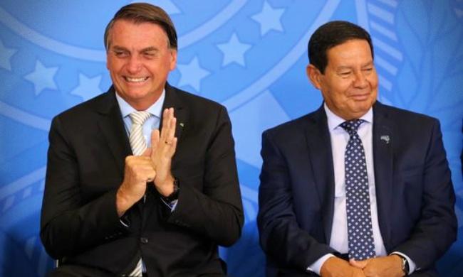 Jair Bolsonaro aumenta próprio salário mourão paulo guedes ministros