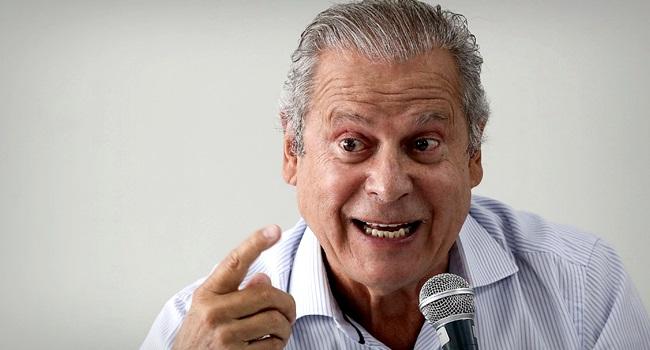 José Dirceu imprensa calou éramos pisoteados ódio nasceu pt