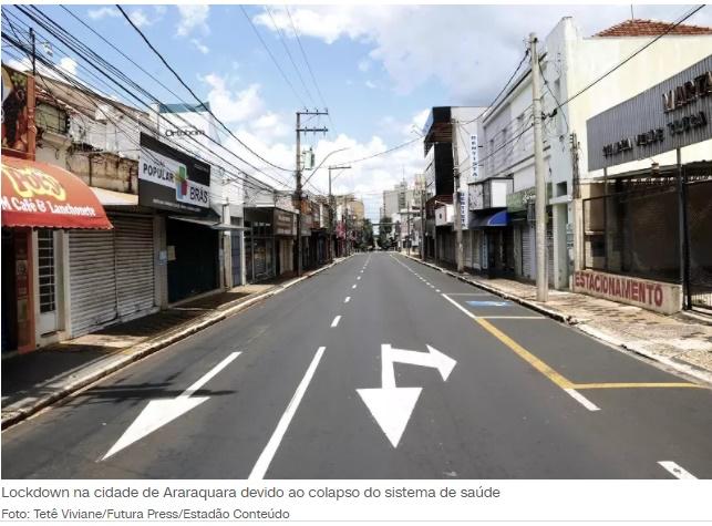 Lockdown Araraquara