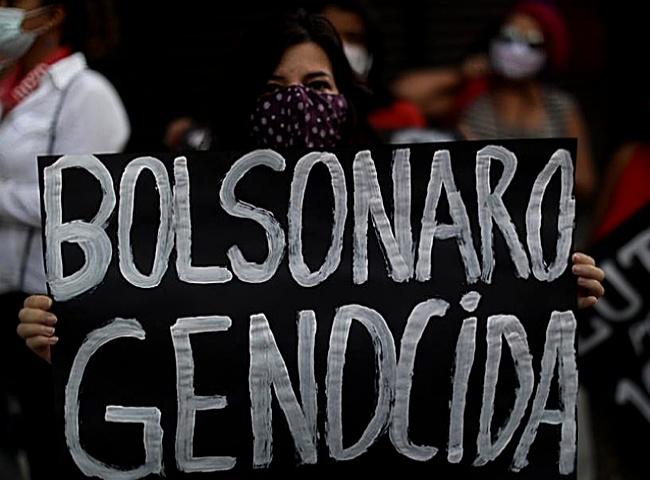 Manifestação contra Bolsonaro convocada maio covid pandemia