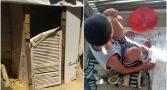 menino-autista-resgatado-galinheiro-sem-agua-comida