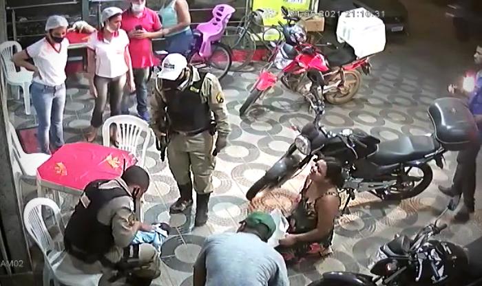 Policial militar rodoviário salva bebê engasgado Minas Gerais