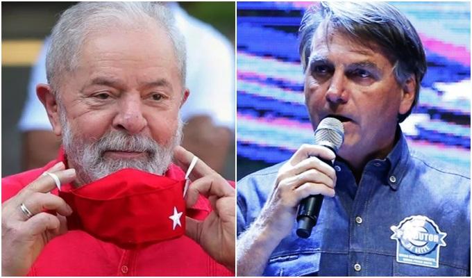 Bolsonaro ultrapassa Lula pesquisa PoderData eleições 2022