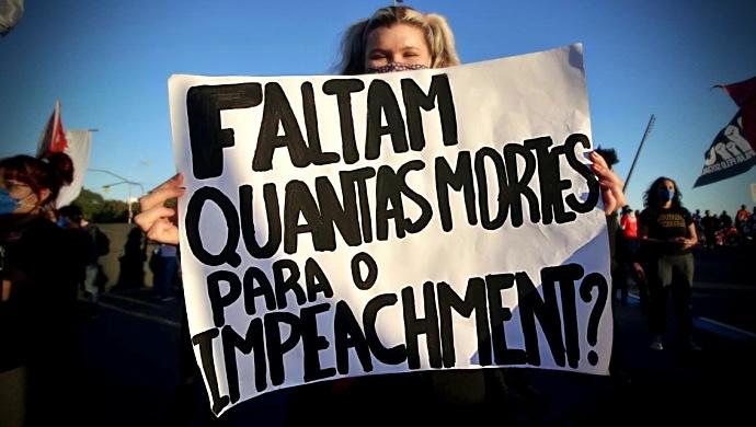 Confira onde ato contra Bolsonaro dia junho cidade
