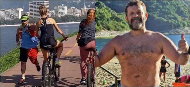 cotovelada ciclista rio