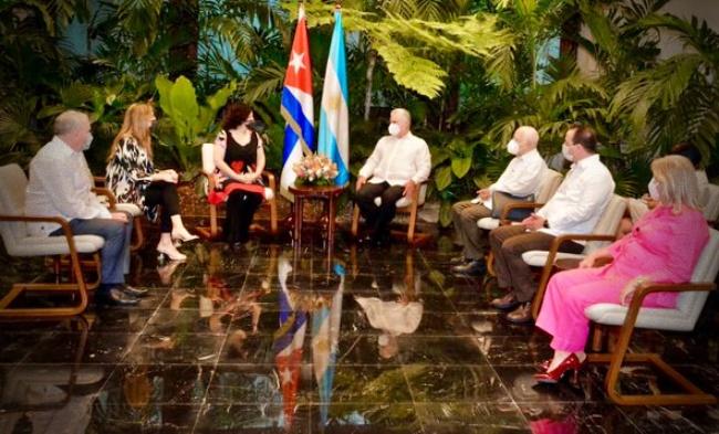 Cuba Argentina acordo cooperação contra Covid-19