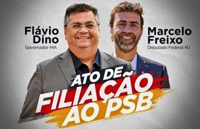 derrotar Bolsonaro é preciso acabar esquerda psb Flávio dino Marcelo freixo