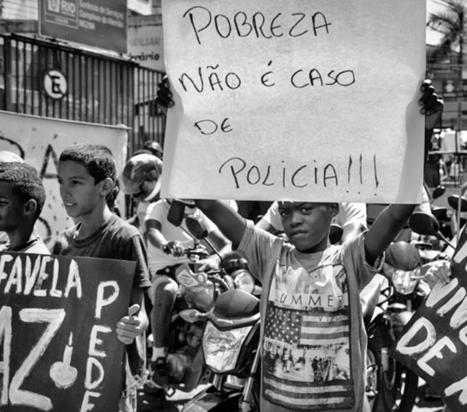 faces da criminalização pobreza