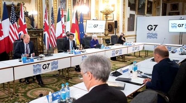 G7 fecha acordo imposto mínimo global empresas