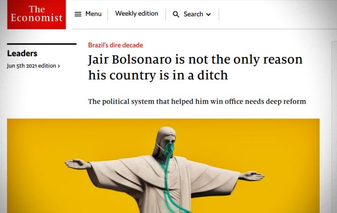 Governo google tradutor defender reportagem the Economist