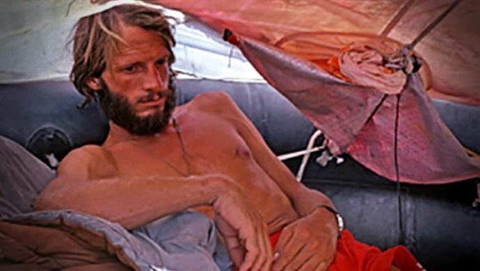 Homem como sobreviveu dias perdido mar Atlântico caribe eua