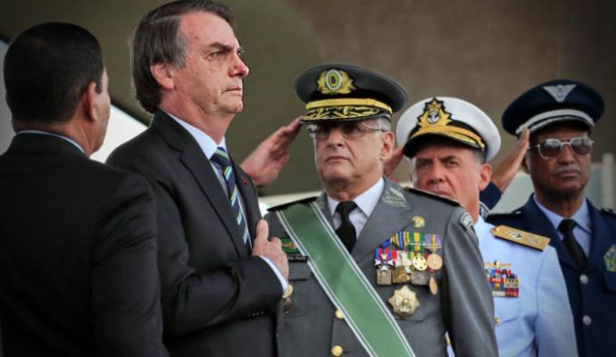 paradoxo presidente fraco mais forte que Exército Bolsonaro