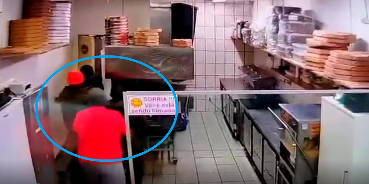 policial mata pizzaria porto alegre