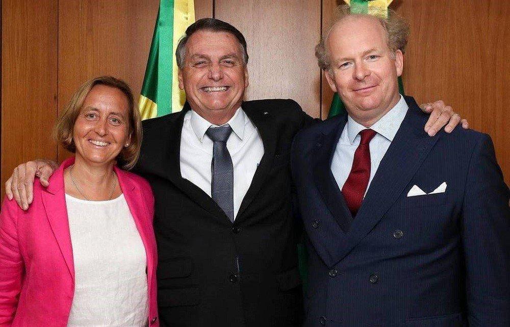 Beatrix von Storch e Bolsonaro