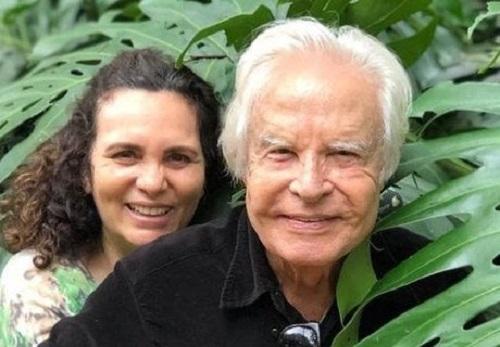 Cid Moreira e Fátima Sampaio