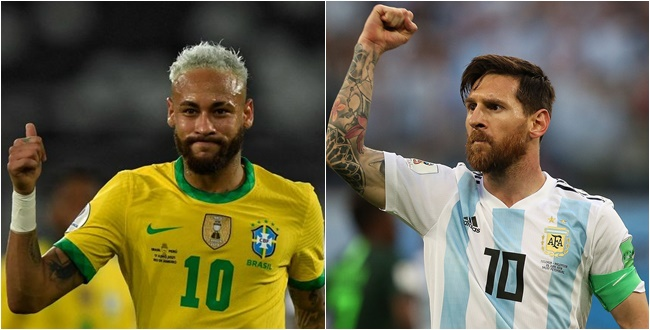 Neymar Messi Copa América