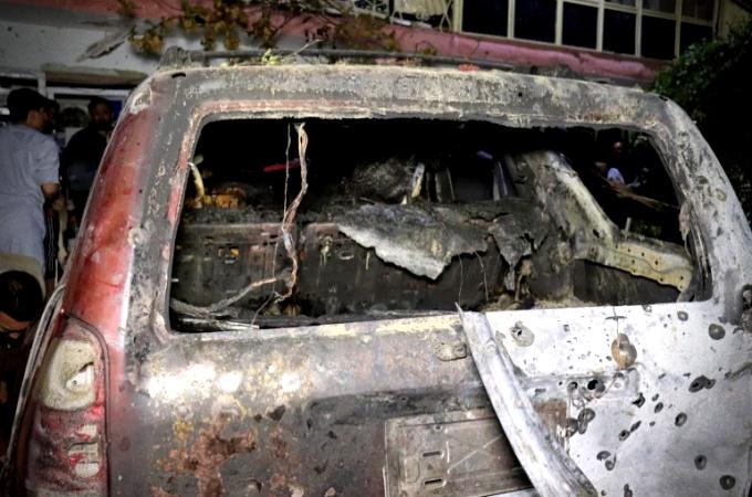ataque contra Estado Islâmico EUA atingem carro suspeito de carregar homens-bombas