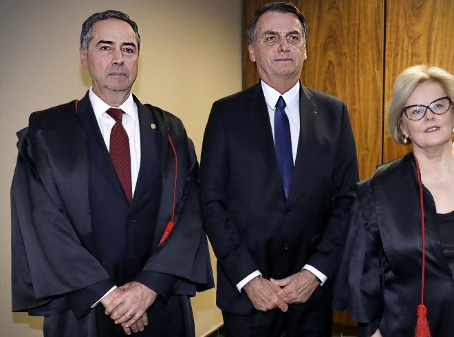 Barroso Bolsonaro merece stf golpe tse stf