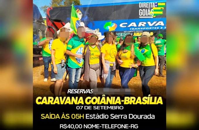 Caravanas para atos pró-Bolsonaro custam avenida paulista são paulo direita