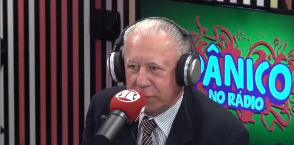 Mauro Gazin, em entrevista na Jovem Pan
