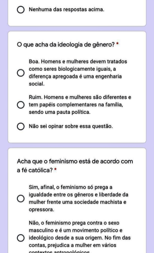 pais de colégio Santo Inácio tradicional rio preocupados feminismo