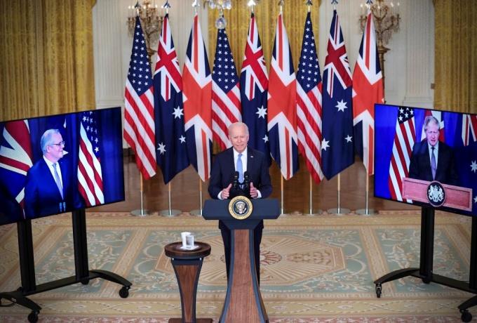 ameaça China EUA Austrália Reino Unido anunciam acordo militar Pacífico