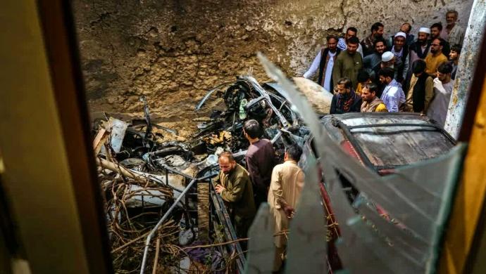 Ataque EUA mata 7 crianças da mesma família Afeganistão estado islâmico
