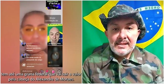 Bolsonarista anunciou prêmio assassinato Alexandre de Moraes preso PF Santa Catarina