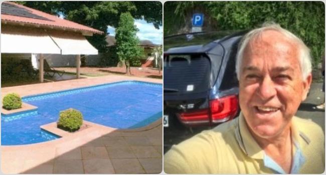 General gasta dinheiro Exército reformar área piscina imóvel funcional morava