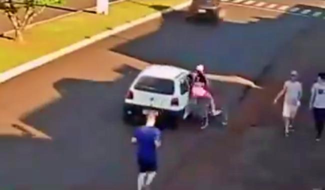 Homem assediou ciclista não ter visto mulher imagens desmentem
