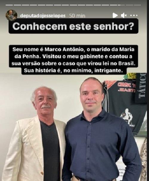 deputado Maria da Penha