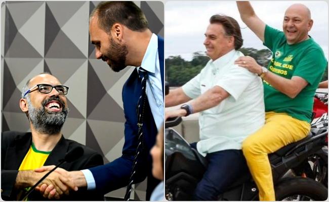 Luciano Hang financiou blogueiro bolsonarista com ajuda de Eduardo Bolsonaro