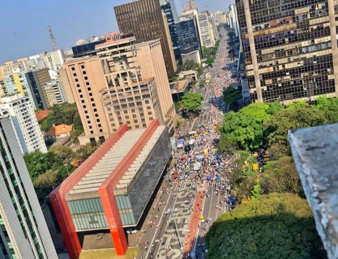 Manifestações MBL fracassam em todo o Brasil neste setembro mbl