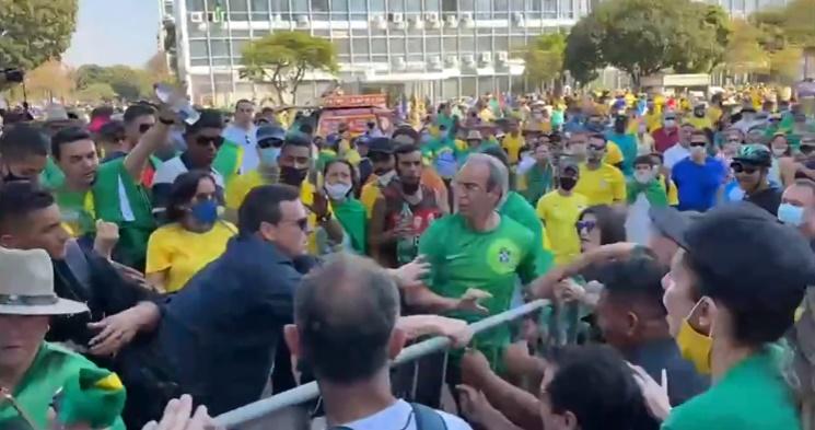 manifestações brasília
