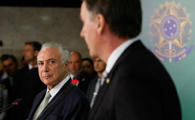 Michel Temer salvou Bolsonaro cassação 1999 história Brasil