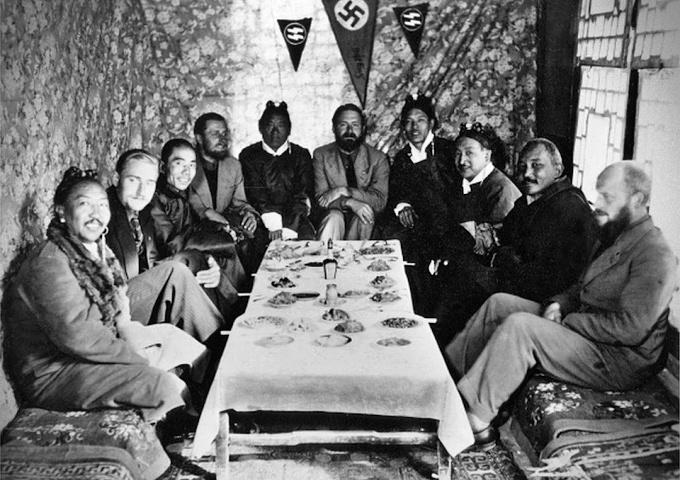 nazistas expedição secreta himalaia alemanha busca raça ariana
